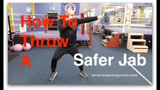 Boxing Techniques - 3 Ways to a Safer Jab