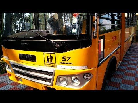 School Bus in Jaipur, स्कूल बस, जयपुर, Rajasthan