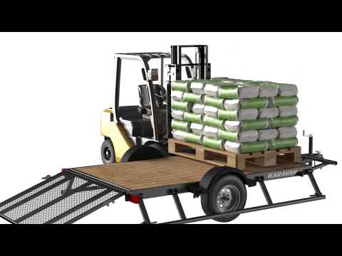 2020 Karavan Trailers 6 x 12 ft. 2990 lb. Steel 967 lb. (ST215/75D14C) in Eugene, Oregon - Video 1