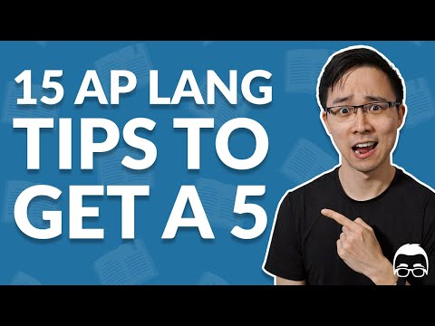 15 AP English Language Tips: How to Get a 4 or 5 in 2021 | Albert