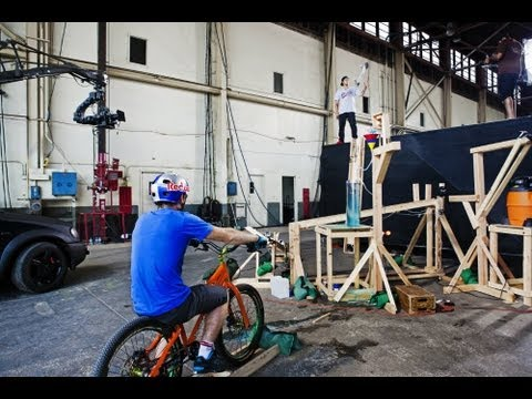 How The Extreme Athlete Powered Rube Goldberg Machine Was Made