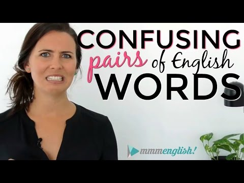 Confusing English Words! Fix Common Vocabulary Mistakes & Errors