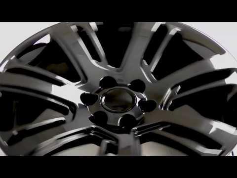 CA88 Midnight Black Chrome Wheels for Chevy Trucks & GMC Trucks