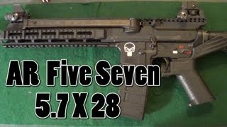 AR Five Seven (AR57) Upper Unboxing and Assembly on my Stag Arms Lower