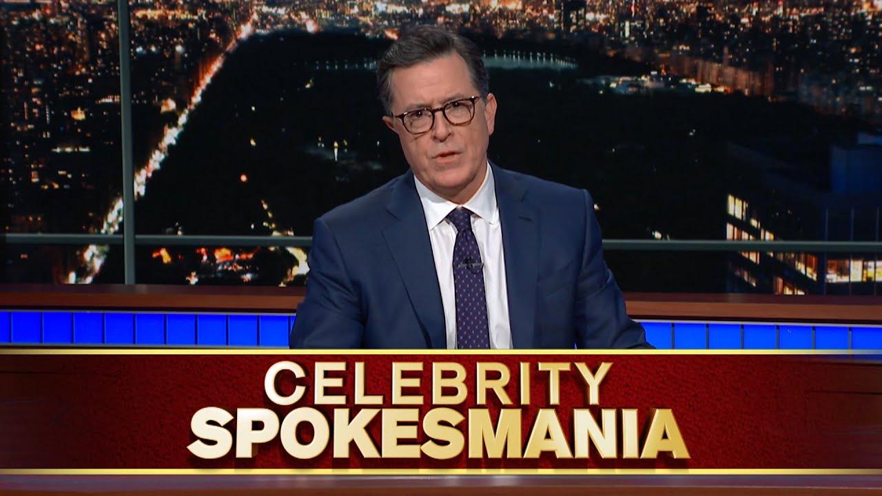 Late Show's Celebrity Spokesmania thumbnail