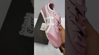 ONITSUKA TIGER MEXICO 66 PARFAIT PINK FOR WOMEN PREMIUM HIGH QUALITY