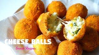 Cheese Balls | Cheesy Snacks | Ramadan Recipes