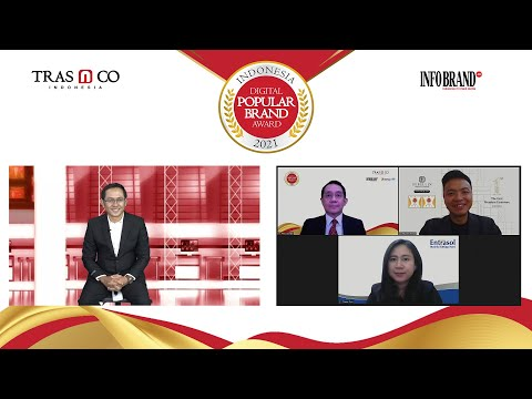 Online Press Conference Indonesia Digital Popular Brand Award 2021