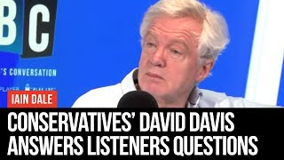 Iain Dale On Sunday: Interview With David Davis - LBC