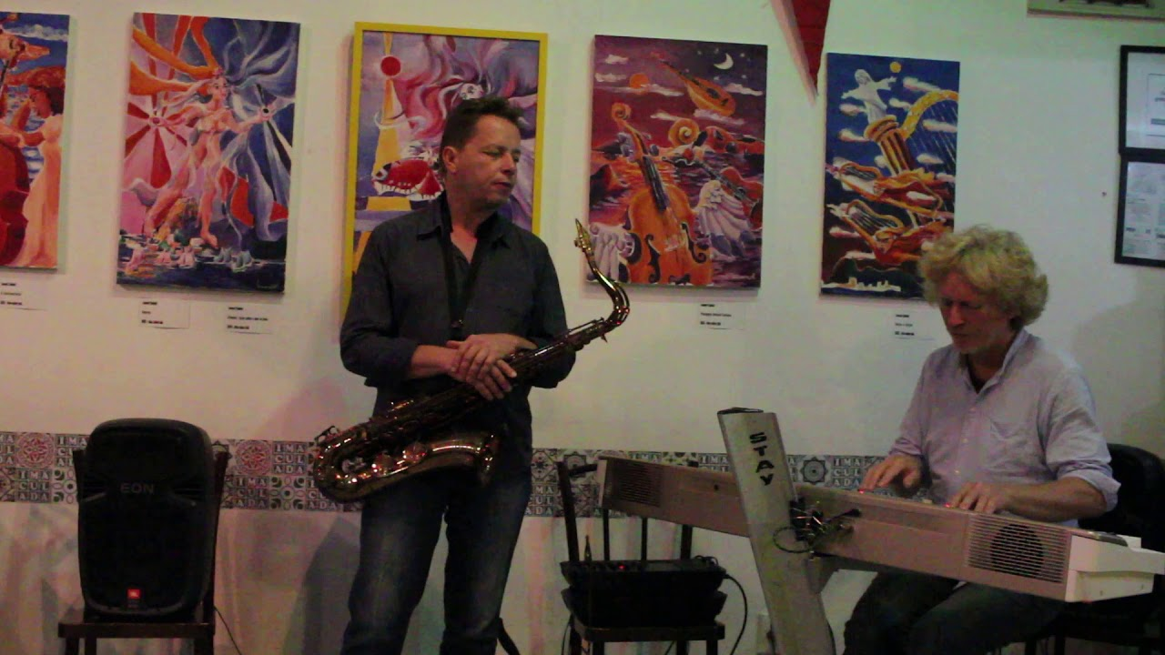 Dupla de Jazz Sax e Piano no Imaculada Bar