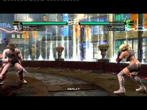 Tekken 6 Online: Miguel [KBB] vs. Nina