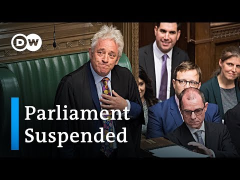 UK Parliament seals Brexit law before forced suspension | DW News