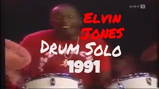 Elvin Jones Drum Solo 1991