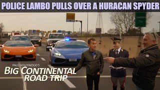 Paul Hollywood & Bruno Tonioli in a Huracan Spyder in Rome | Big Continental Road Trip by Fifth Gear