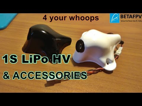 BETAFPV Batterie LiHV e accessori per i vostri Tiny whoop #drone