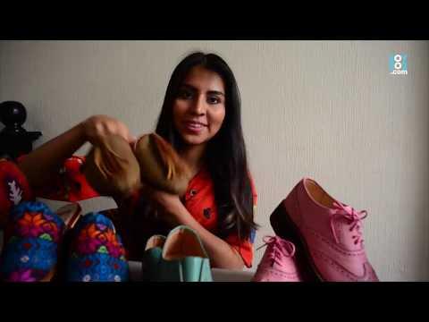 Guatemalteca diseña calzado que le da la vuelta al mundo