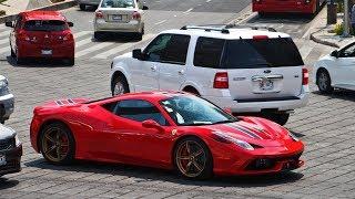 Ferrari 458 Speciale en el Angel de Independecia México