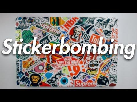 Stickerbombing: Come decorare il tuo Laptop