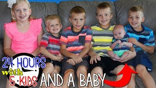 24 Hours With 5 Kids and a Baby