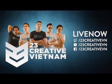 Xem ngay trên https://www.twitch.tv/23creativevn   Theo chân team Việt Nam  tại TI7   23 Creative VN