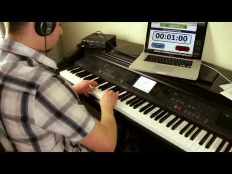 Lightning Fast Piano Scales!