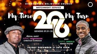 Overcoming Believers Church Dance Ministry - Watchnight 2015