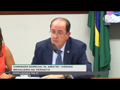 PL 3267/19 - Código Brasileiro de Trânsito - 25/09/2019 - 15:59