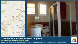 preview picture of video '2 dormitorios 1 baño Vivienda de pueblo se Vende en Country House, Benferri, Alicante, Spain'