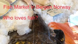 Fishmarket in Bergen, Norway
