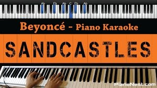 Gambar cover Beyonce - Sandcastles - Piano Karaoke / Sing Along / Cover with Lyrics