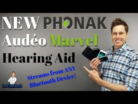 Phonak Audeo M (Marvel) Bluetooth Hearing Aid Review | Made for Android & iPhone