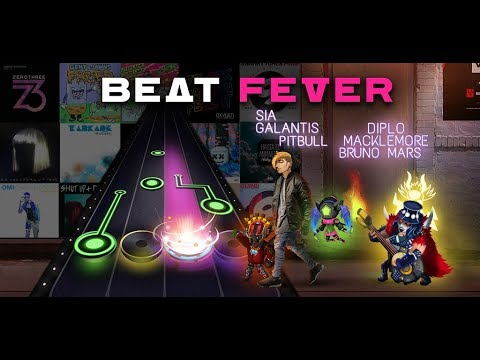 Vídeo do Beat Fever: Jogo rítmico de tocar música