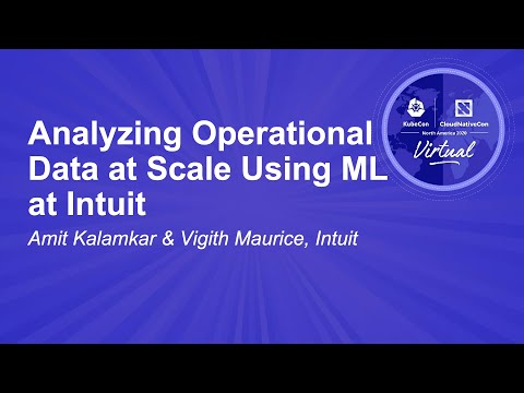 Image thumbnail for talk Analyzing Operational Data at Scale Using ML at Intuit