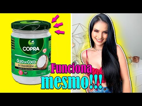 4 usos do Óleo de Coco