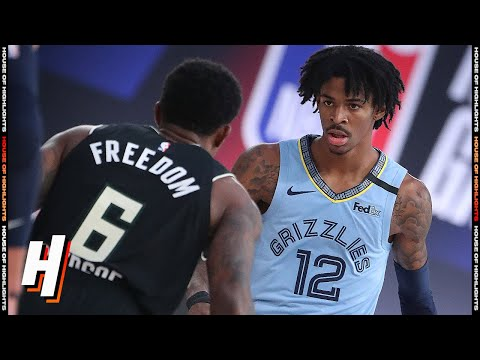 Milwaukee Bucks vs Memphis Grizzlies - Full Game Highlights | August 13, 2020 | 2019-20 NBA Season