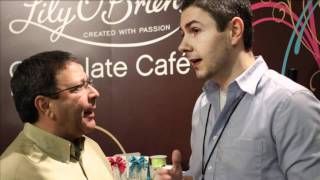 Eat More Chocolate Irish Chocolate by Lily O'Briens NY Chocolate Show