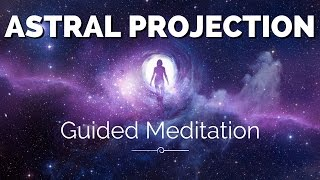 Astral Projection Guided Meditation | OBE Technique | Astral Travel Hypnosis