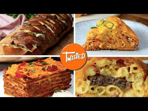 9 More Food Recipes That Will Leave You Stuffed For Days | Super Sized Recipes | Twisted