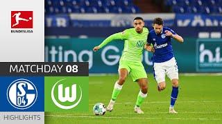 FC Schalke 04 - VfL Wolfsburg | 0-2 | Highlights | Matchday 8 – Bundesliga 2020/21