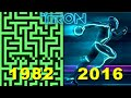 Evolution Of Tron Games 1982 2016