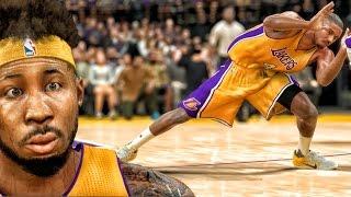 JUSTICE GETS ANKLES BROKEN AGAIN! NBA 2K17 My Career Gameplay Ep. 18