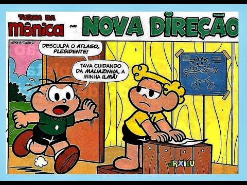 Turma da Mônica em Nova direção - gibis Quadrinhos Turma da Mônica