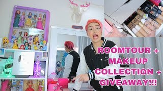 VLOGMAS NI RAF 14: ETO NA PO! ROOM TOUR + MAKEUP COLLECTION + GIVEAWAY! WALA NG HAHANAPIN PA