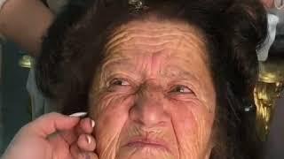 Une Formidable Maquilleuse Maquille Sa Grand Mère   Quand Elle Termine, Elle A 40 Ans De Moins