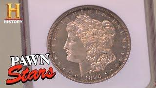 Pawn Stars: Extremely Rare 1895 Morgan Dollar | History