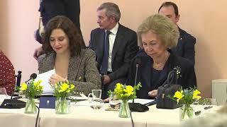 Doña Sofía preside la reunión del Patronato de la Escuela Superior de Música Reina Sofía