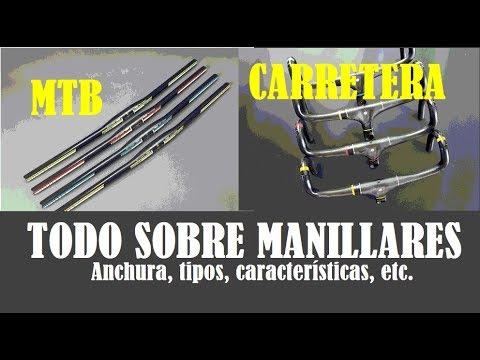 TIPOS DE MANILLARES EN MTB Y CARRETERA