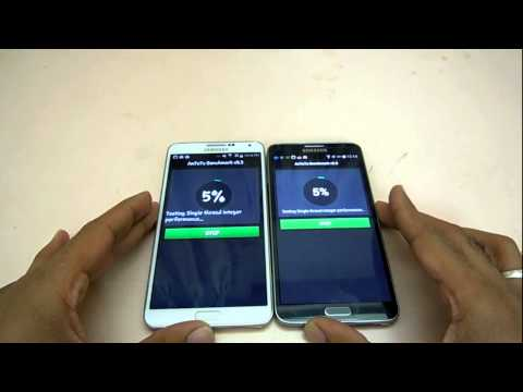 Samsung Galaxy Note 3 Neo Vs Note 3  Benchmark Test (Hindi) Mp3