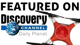 Discovery Channel Daily Planet Features the Splash Drone