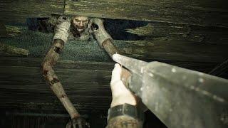 Resident Evil 7: Marguerite Baker Boss Fight (2nd Encounter) (1080p 60fps)